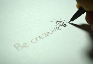 wees creatief