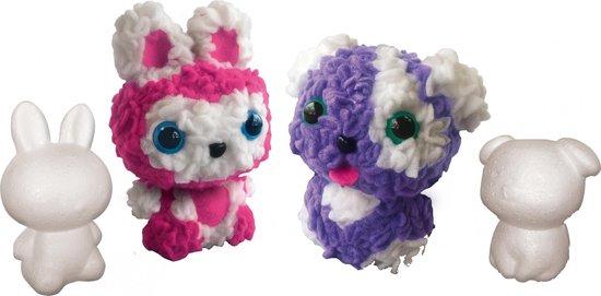 Zelf Fluffy dieren maken