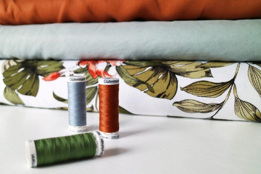 maak je eigen kleding stof en garen